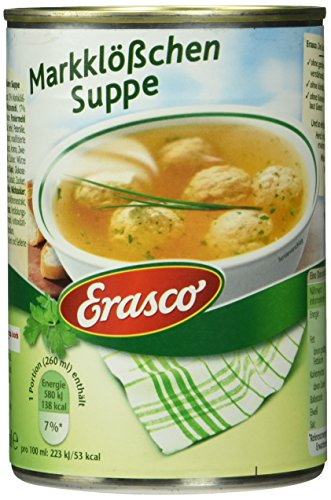 Erasco Markklößchen Suppe, 3er Pack (3 x 390 ml)