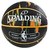 Spalding NBA Marble negro out SZ.7(83-882Z) Basketballs, Juventud Unisex, 7