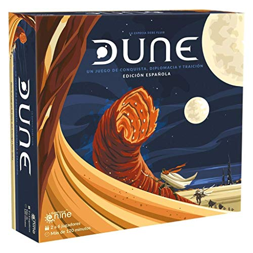 Gale Force Nine- Dune Un Juego de Conquista, Diplomacia y Traicion (DUNE01-S)