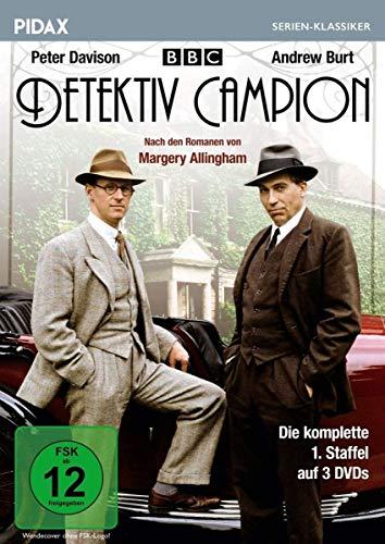 Detektiv Campion, Staffel 1 (Albert Camion) / Die komplette 1. Staffel der beliebten Krimiserie nach Romanen von Margery Allingham (Pidax Serien-Klassiker) [3 DVDs]