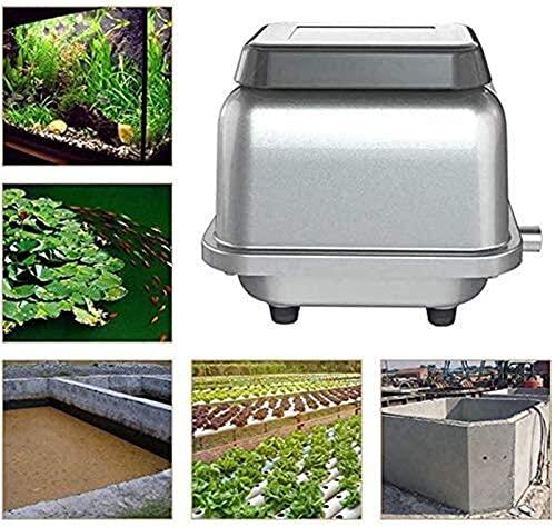 Kettles Aquarium Air Pump 45KPA 120L / MIN Compresor de Aire electromagnético para Acuario KOI Fish Hydroponics Pond Tank Septic Airator Aeradores de Aire Acuario Bomba DE Pescado Y HIDROPONICO
