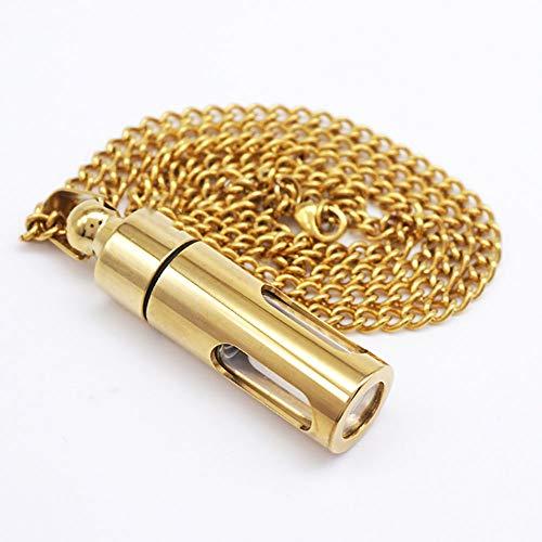 XIANGAI La chaîne de Cendres Peut être Ouverte avec Une Bouteille d'amulette (Color : B)