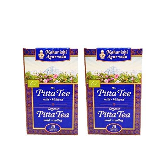 Maharishi Ayurveda Bio Pitta Tee im Doppelpack 30 x 1,2g Beutel