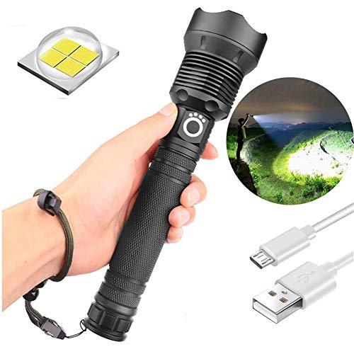 90000 lumen xhp70.2 leistungsstärkste led taschenlampe usb zoom taschenlampe xhp70 , teleskop USB zoom wasserdichte camping taschenlampe (batterie nicht enthalten) (Xhp70)