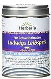 Herbaria 'Ludwigs Leibspeis' Gewürzmischung für Schweinebraten, 1er Pack (1 x 95 g Dose) - Bio