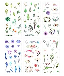 Calming Hobbies: Floral Stickers