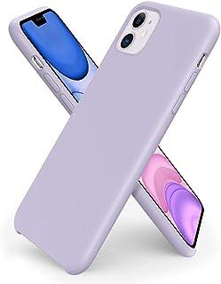 ORNARTO Funda Silicone Case para iPhone 11, Carcasa de Silicona Líquida Suave Antichoque Bumper para iPhone 11 (2019) 6,1 ...