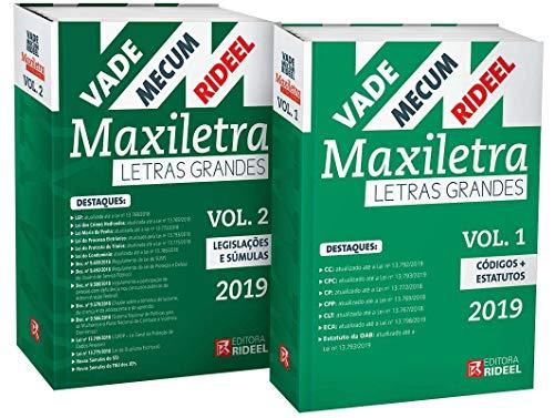 Vade Mecum Maxiletra Rideel. Letras Grandes – 2 Volumes