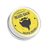 Bálsamo de barba premium fuerte cera de bigote acondicionador de barba profunda natural orgánico barba suavizante para el cuidado del cabello y crecimiento