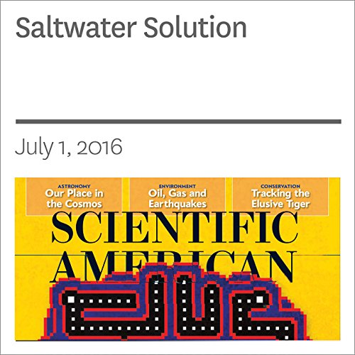 Saltwater Solution audiobook cover art