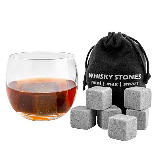 FortheChef Soapstone Whiskey Stones, Set of 9