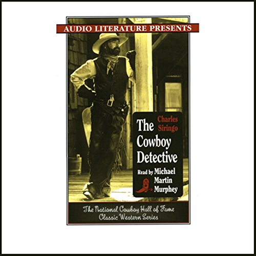 The Cowboy Detective audiobook cover art