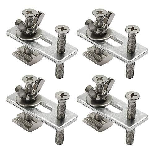 Genmitsu 4 Stück T-Nut Niederhalter Klemme, kompatibel mit 3018-PRO / 3018-MX3 / 3018-PROVer CNC Fräs-/Graviermaschine