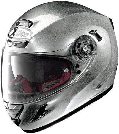 X-LITE Helm Motorradhelm Integral tri-Composite X 702GT Start Scratched crome S