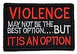 Violence, May not...image