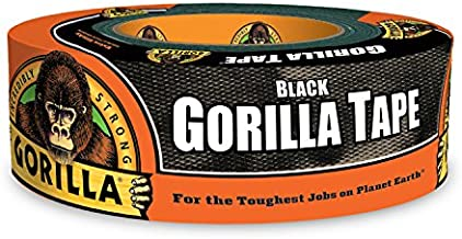 Gorilla Black Duct Tape, 1.88