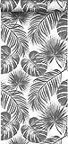 papel pintado hojas tropicales blanco y negro - 139236 - de ESTAhome