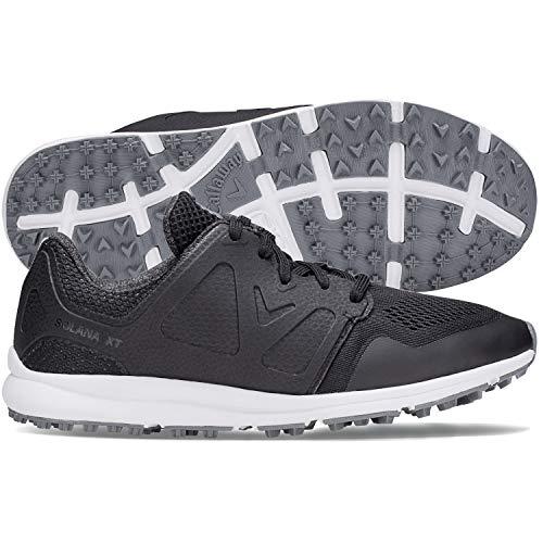 Callaway Women's Solana XT Golf Shoes, Black, 9, B