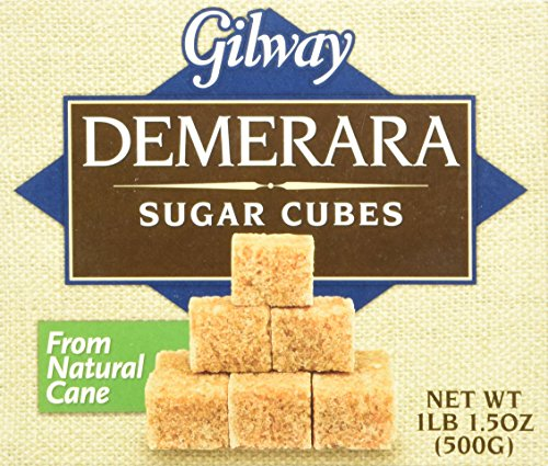 Gilway Demerara Sugar Cubes , 1.50 Ounce (Pack of...