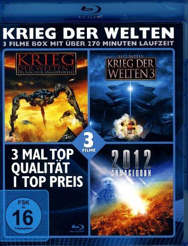 KRIEG DER WELTEN - 3 Filme Blu-ray Box (Krieg der Welten 2 +3; 2012 Armageddon)