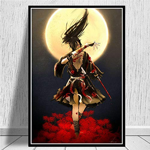 yiyiyaya Home Küche dekorative Malerei Poster und DruckePoster Wandkunst Bild Leinwand Malerei für Raum Home Decor-50x70_cm_Unframed_0013