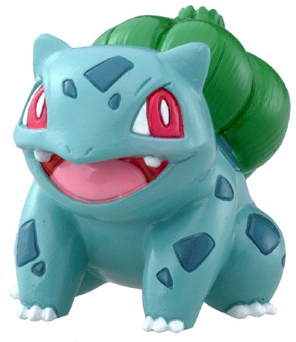 Pokemon: Best Wishes! (Schwarz + Weiß) Monster Collection Figur: Bisasam / Bulbasaur