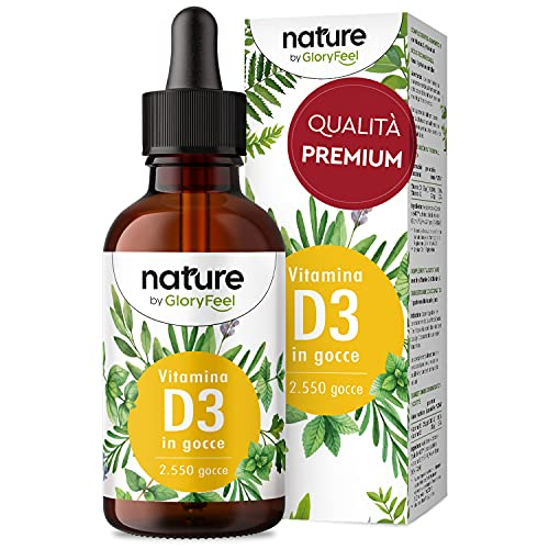 Vitamina D3 in Gocce 75ml, 1000 UI per Goccia, Supporta Ossa, Denti e Sistema Immunitario, Vitamina D Liquida Colecalciferolo in Olio MCD da Noce di Cocco ad Alta Stabilità, Integratore Vitamin D