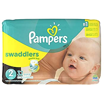 Pampers Swaddlers Disposable Diapers Size 2 32 Count JUMBO