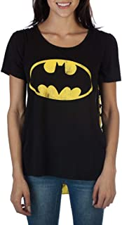 Batman Women's Interchangeable Cape Costume Tee Shirt