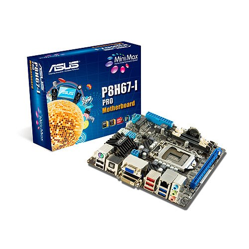 Asus P8H67-I Pro Rev 3.0 Mainboard Sockel 1155 (Mini-ITX, Intel H67, DDR3 Speicher, SATA 3.0)