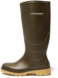 Dunlop Protective Footwear Unisex Adult's Dunlop Dull Rain Shoe, Black, 2.5 UK