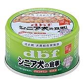デビフdbfシニア犬の食事ささみ&すりおろし野菜85g×24