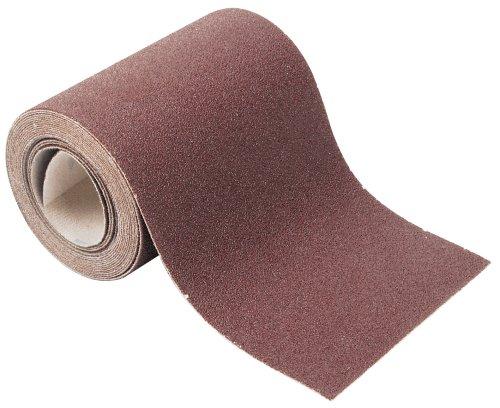 Wolfcraft 1739000 - Rollo papel abrasivo, con velcro auto-adhesivas, grano 60, 4 m x 115