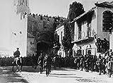 Poster Allenby Entering Jerusalem Nsir Edmund Allenby und
