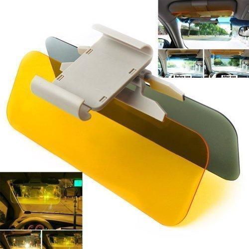 Gearmax Gafas Conductor Reflejos de Espejo de Auto Coche Espejo de la Visera de día y Noche