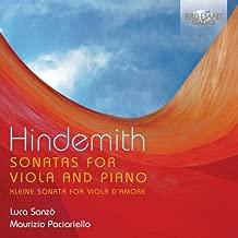 HINDEMITH: Sonatas for Viola and Piano