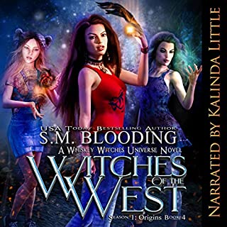 Witches of the West audiobook cover art