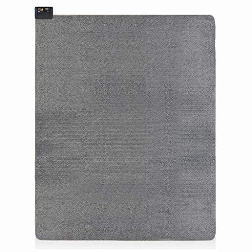 広電(KODEN) ホットカーペット 3畳 本体 グレー 小さく畳める 省エネ 面切換 8hOFF スライド温度調節 ダニクリーン 235×195cm VWU3015