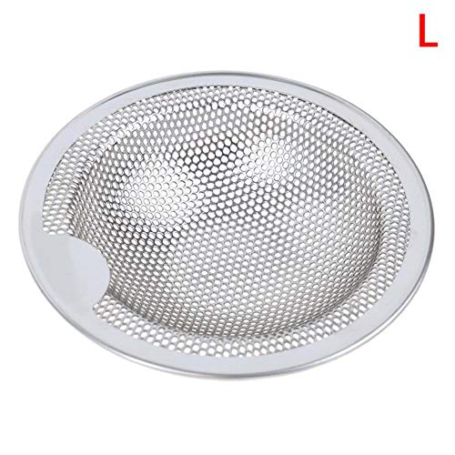 RVS Badkuip Haar Catcher Stopper Douche Afvoer Gat Filter Trap Keuken Metalen Sink Strainer L