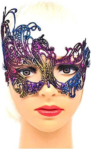 Inception Pro Infinite Máscara veneciana – Multicolor – Macramé – Carnaval – Halloween – Idea regalo – Hombre – Mujer – Unisex