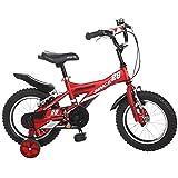 LVZAIXI Royal Baby Bull Dozer Fat Tire Kids Bike, 18 Pulgadas, All-Terrain Boys Bike para niños enérgicos, Burly Kid's Bike with Stabilisers- Ruedas de Entrenamiento y Kickstand (Tamaño : 16Inch)