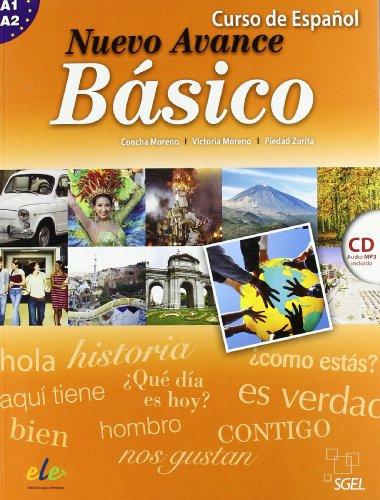 Nuevo Avance Basico Student Book + CD A1+A2: Libro Del Alumno Basico + CD (A1 + A2 in One Volume) [Lingua spagnola]