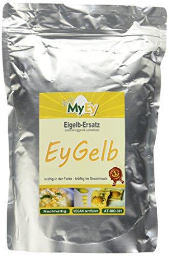 MyEy EyGelb, BIO Eigelb-Ersatz, vegan, sojafrei, cholesterinfrei, 1er Pack (1 x 1 kg)