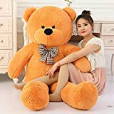Easy Washable and best quality product. Giant teddybear with big size teddybear special lockdown gift best sale with high quality. Also more colours availale : red,pink,blue,purple,brown,dark brown. Best gift for birthday gift,anniversary gift,valent...