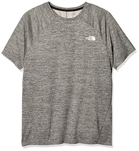 The North Face Camiseta M Ambition S/S-EU para Hombre, Hombre, Camiseta, 3YVY, TNF Negro, M