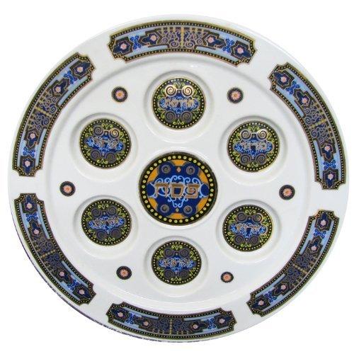 Passover Oriental Porcelain Round Seder Plate