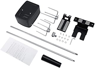 Rotisserie Kit,Universal Rotisserie Kit for Barbecue Corrosion Resistant Stainless Steel Spit Rod Meat Forks with Electric...