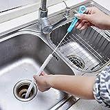 Bequemlichkeit 71cm Biegsamen Küche Kanalisation Reinigung Pinsel Sink Tub Wc Dredge Reiniger Rohr Schlange Pinsel Werkzeug Preiswert