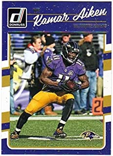 2016 Panini Donruss Football #24 Kamar Aiken Baltimore Ravens