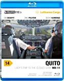PilotsEYE.tv | QUITO | Cockpitmitflug MD-11F | Lufthansa Cargo | 'Lady's trip to the closed strip' | Bonus: Mulitiview landing, Splitscreen 6cams [Reino Unido] [Blu-ray]